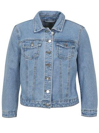 Jacheta albastru deschis din denim - VILA Jules