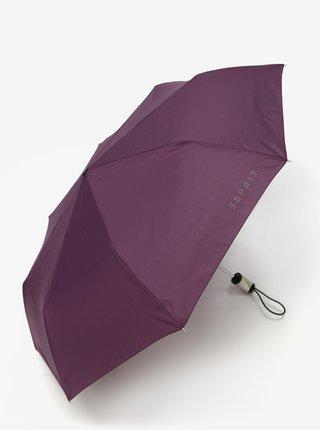 Umbrela pliabila filmata de culoare mov Esprit Easymatic