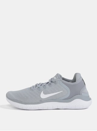 Šedé pánské sportovní tenisky Nike Free RN 2018