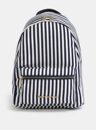 Bielo-modrý pruhovaný batoh Fornarina Billy