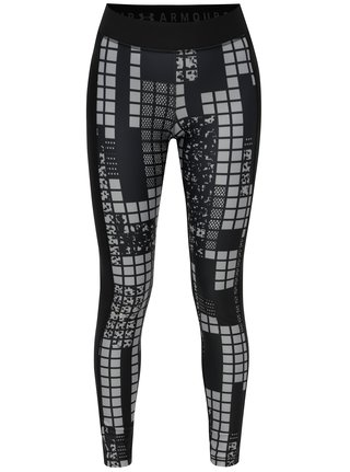 Leggings de dama sport negri cu model Under Armour
