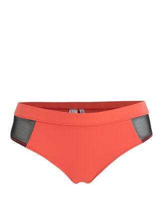Neonově růžový spodní díl plavek Calvin Klein