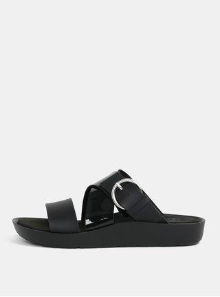 Čierne dámske zdravotné papuče Scholl Marmaris