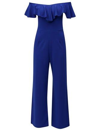 Modrý overal s odhalenými ramenami Dorothy Perkins