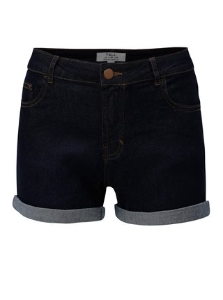 Pantaloni scurti de blugi albastru inchis Dorothy Perkins Tall