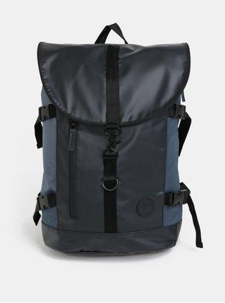 Rucsac impermeabil albastru-negru Enter Weekend Hiker 24 l