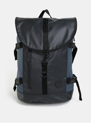 Modro-čierny vodovzdorný batoh Enter Weekend Hiker 24 l
