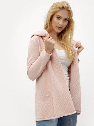 Cardigan roz prafuit cu striatii - Haily´s Cindy