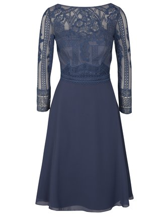 Modré šaty Chi Chi London Reni 644f2ff8270