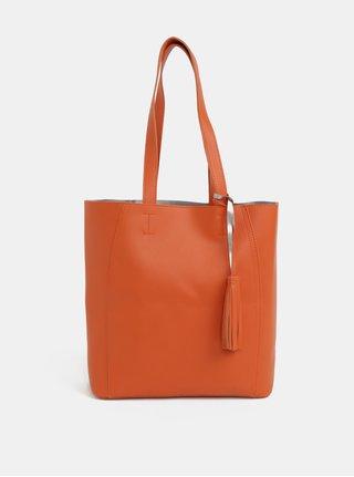 Oranžový shopper Dorothy Perkins