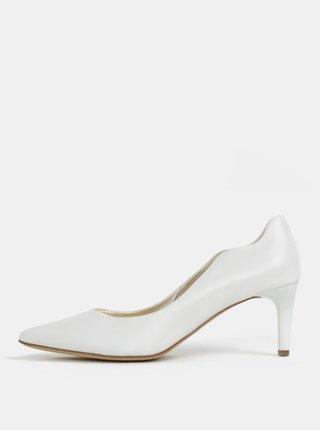 Pantofi albi din piele - Högl