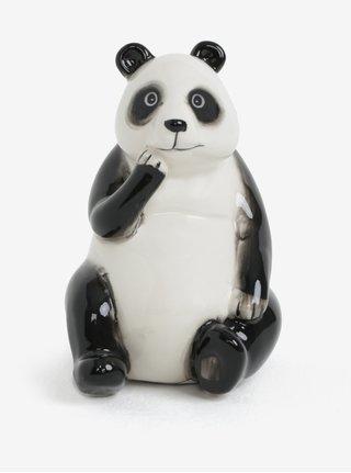 Pusculita negru-alb in forma de panda SIFCON