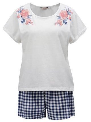 Pijama albastru-crem Dorothy Perkins