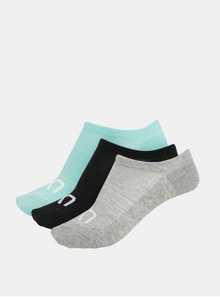 Súprava troch párov ponožiek v sivej farbe Kari Traa Hæl