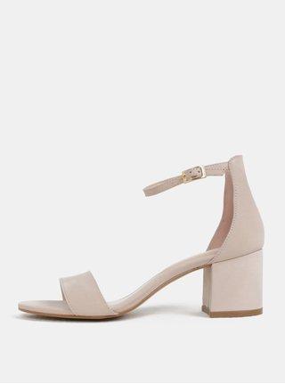 Sandale roz deschis din piele ALDO Villarosa