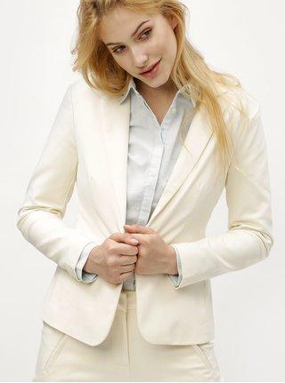 Krémové kostýmové sako Vero Moda