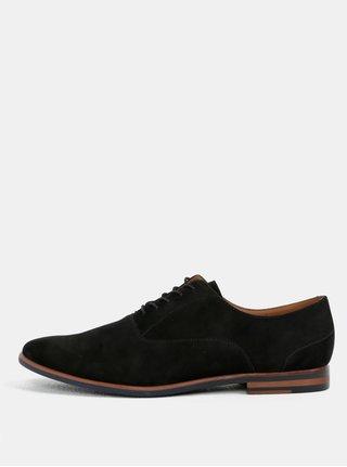 Pantofi barbatesti negri din piele intoarsa ALDO Wen-r