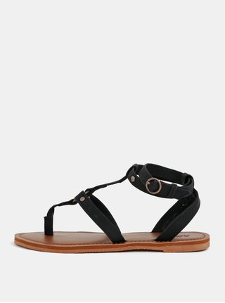 Čierne dámske sandále Roxy Soria