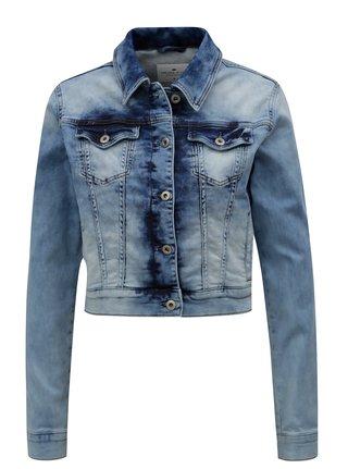Světle modrá dámská džínová bunda Cross Jeans