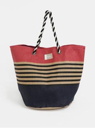 Modro-červená plážová taška Roxy Sunseeker