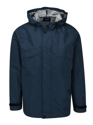 Jacheta albastru inchis cu gluga Burton Menswear London