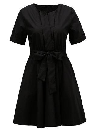 Rochie neagra cu cordon Fornarina Candy