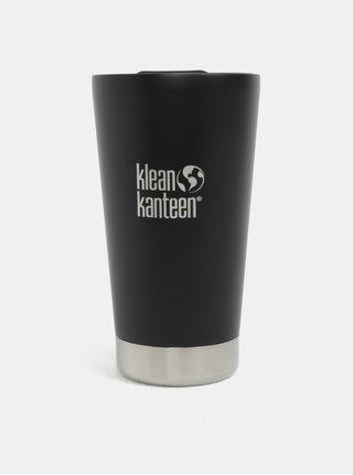 Čierny termohrnček Klean Kanteen 473 ml