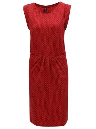 Červené vzorované šaty Tranquillo Indica 742854001b