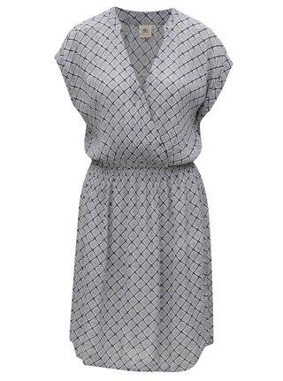 Sivo–modré vzorované šaty Rip Curl