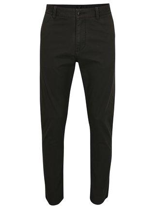 Tmavě šedé pánské slim fit chino kalhoty Quiksilver