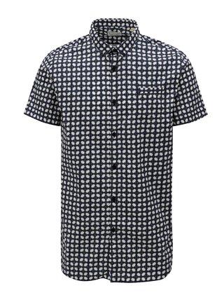 Tmavě modrá vzorovaná košile Dstrezzed