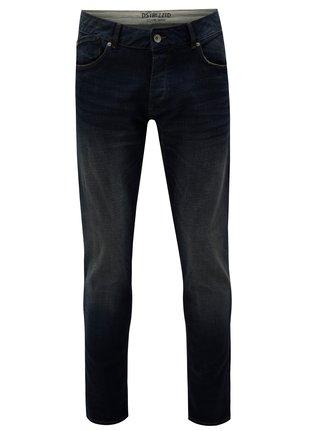 Tmavě modré regular slim fit džíny Dstrezzed