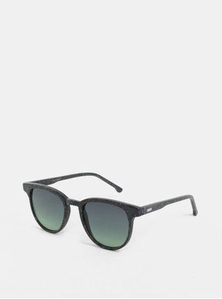 Tmavě šedé sluneční brýle Komono Winston