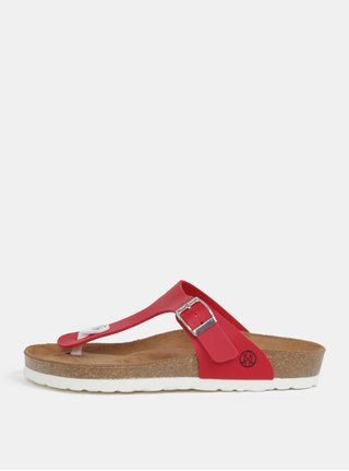 Papuci flip-flop rosu - OJJU