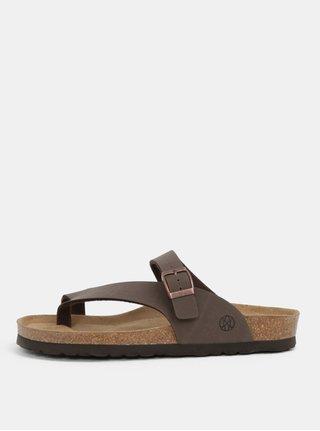 Hnědé pantofle OJJU Yaiza