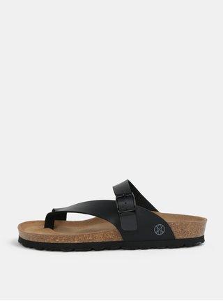 Černé pantofle OJJU Yaiza