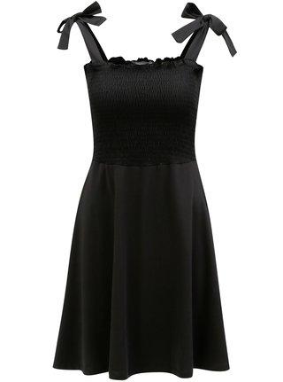 70a1225a9d58 Čierne šaty na ramienka Dorothy Perkins