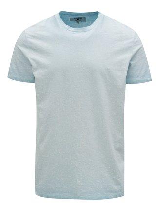 Světle modré pánské vzorované tričko Garcia Jeans