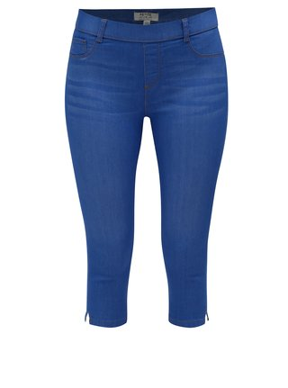 Jeggings albastri crop Dorothy Perkins Petite