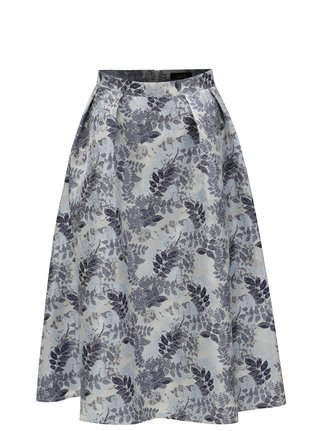 Modrá kvetovaná sukňa Dorothy Perkins