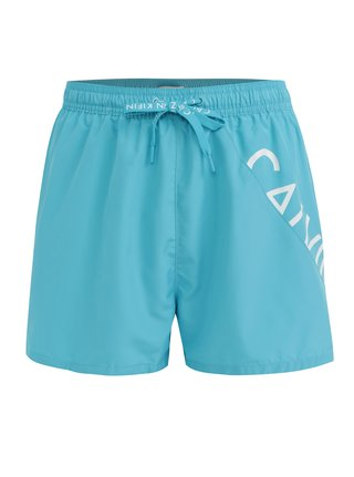 Světle modré pánské plavky Calvin Klein Underwear