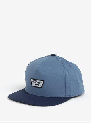 Modrá pánská kšiltovka s logem VANS Mini full