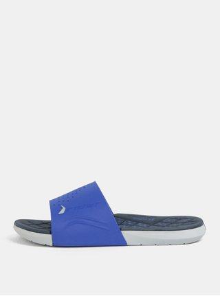 Papuci barbatesti gri-albastru Rider