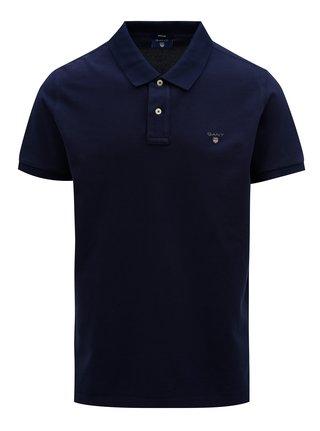 Tmavě modré pánské regular polo tričko GANT