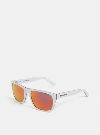 Ochelari de soare rosu-alb pentru barbati - Horsefeathers Keaton