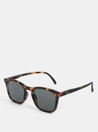 Tmavě hnědé dětské sluneční brýle IZIPIZI #E