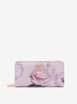 Ružová kvetovaná peňaženka Liberty by Gionni Fleur