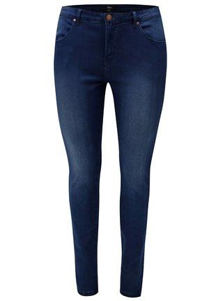 Tmavě modré super slim džíny Zizzi