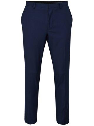 Pantaloni albastru inchis formali skinny fit Burton Menswear London