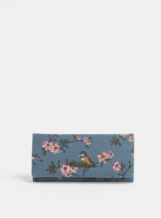 Modrá kvetovaná peňaženka Brakeburn
